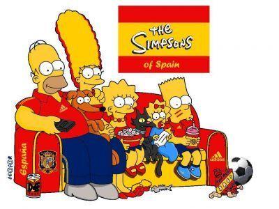 simpsons seleccion española